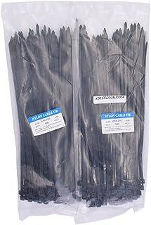 ナイロン結束バンド ケーブルタイ 耐候性タイプ 梱包結束用品 作業用品 黒 幅 4.8mm × 長さ 250mm 200本入