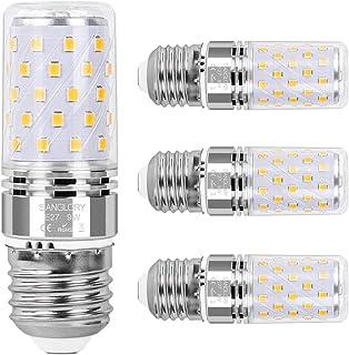 SanGlory E27 LED Mais Glühbirnen, 9W E27 Led Birnen 950LM ersatz 80W Glühlampe, Warmweiß 3000K Energiesparlampe E27 LED La...