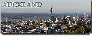 Auckland panoramic fridge magnet New Zealand travel souvenir