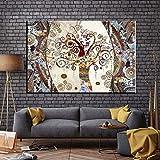 Puzzle 1000Piece 75x50cmAdult CrosswordGustav Klimt's Famoso Árbol de la Vida Juegos Que Todos Pueden Jugar