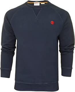 Timberland Mens Fleece Jumper 'Exeter River Basic Brushed Back Crew Sweatshirt'