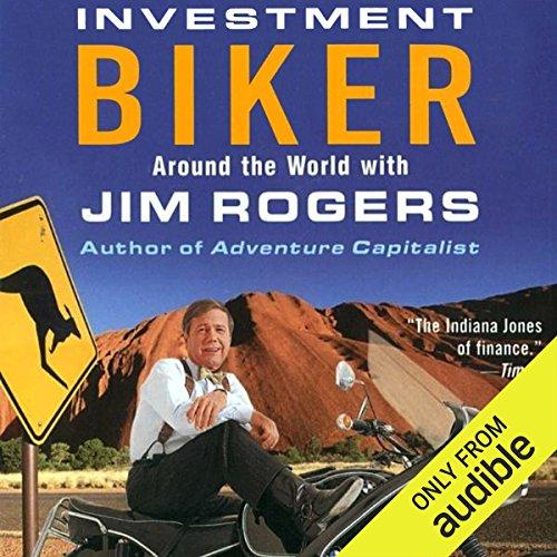 Investment Biker audiobook cover art
