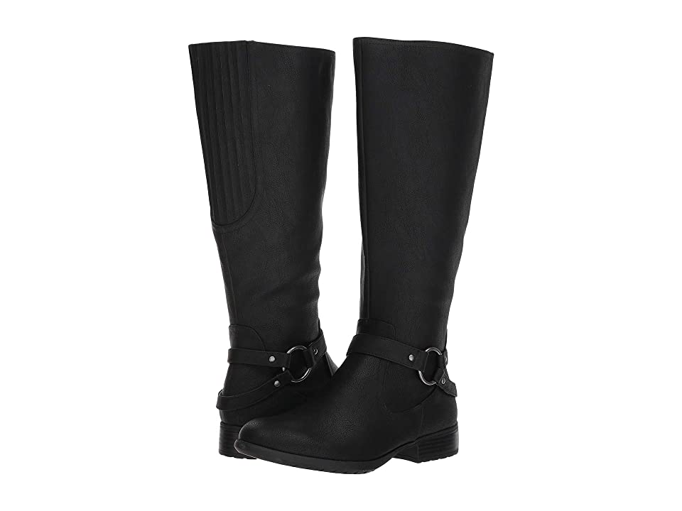 LifeStride X-Felicity Wide Calf (Black) Women