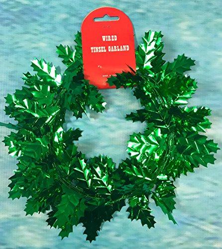 Party Heaven - Ghirlanda natalizia a forma di foglie, 11,7 m