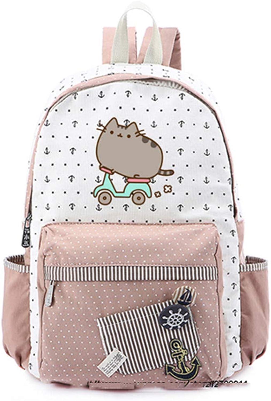 Canvas Bag Rucksacks Backpack for Teenagers Girls Women School Travel Shoulder Bag 9