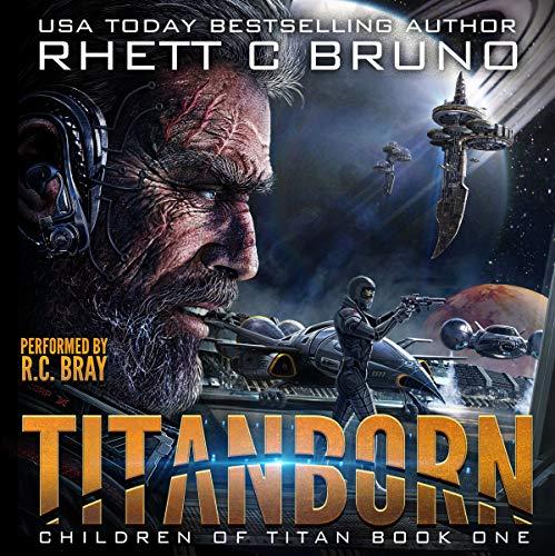 Titanborn audiobook cover art
