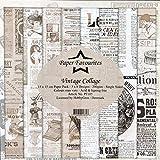 Dixi Craft Paper Favourites - Blocco di carta per giornale vintage, 15 cm x 15 cm