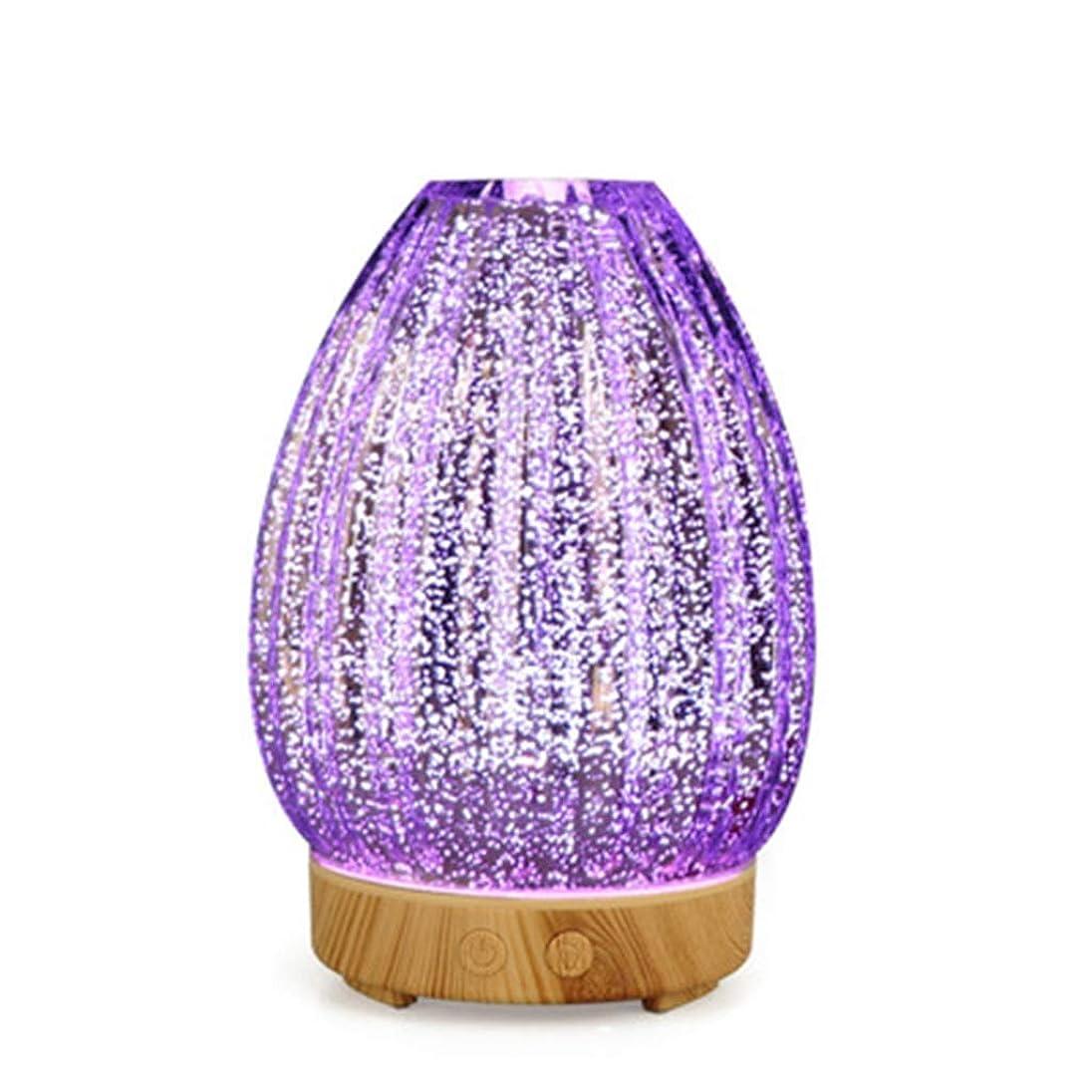 時間ダイエット桁クールミスト空気加湿器、ウォーターフリーオートクローズ、7 LEDカラー変更ライト付き、寝室のベビーレディの家の装飾に適して (Color : Light wood grain)