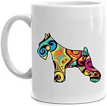 Eddany Psychedelic Standard Schnauzer Mug