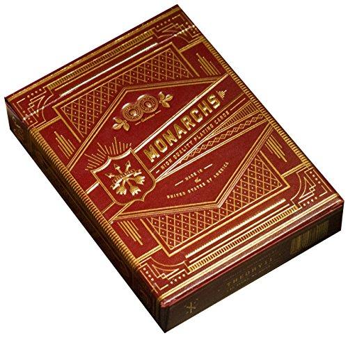Rot Monarch Spielkarten von theory11& Fahrrad–Original Version 1
