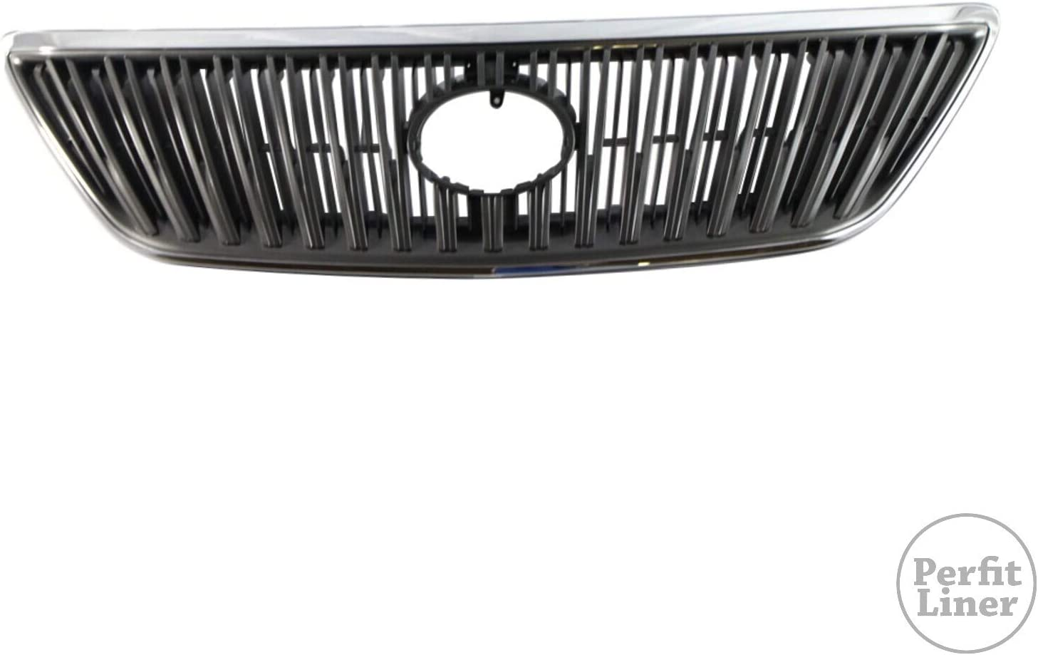 Perfit Liner New Front Gray Grille 1 year warranty Grill LEXUS With Compatible 2 Ultra-Cheap Deals