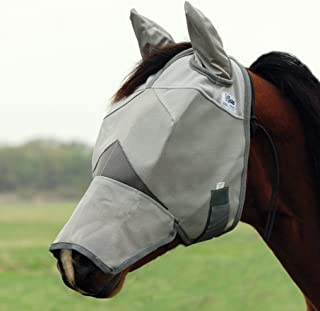 Cashel Crusader Horse Fly Mask with Ears and Long Nose