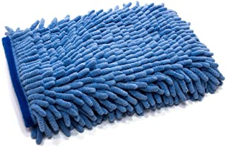 [Zero Cuff] Microfiber Wash Mitt (7 in. x 9 in.) 1pack (Blue)