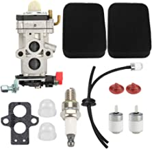 Hayskill EBZ8500 Carburetor w Air Filter Tune Up Kit for Husqvarna 350BT 150BT 350BF RedMax Red Max EBZ8500RH Backpack Leaf Blower WAY-79 WYA-172 WYA-44 WYA-155