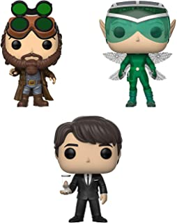 Funko Pop! Bundle of 3: Artemis Fowl - Holly Short, Artmis and Mulch Diggems