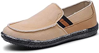 LANCROP Mens Men Casual Loafers