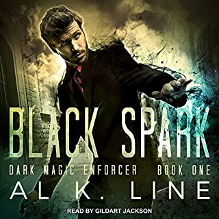 Black Spark     Dark Magic Enforcer Series, Book 1              By:                                                                                                                                 Al K. Line                               Narrated by:                                                                                                                                 Gildart Jackson                      Length: 7 hrs and 24 mins     56 ratings     Overall 4.4