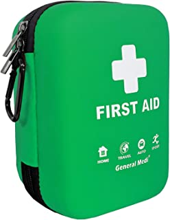 First Aid Kit - 170 Pieces Hard Case and Lightweight -