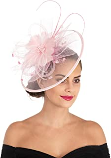 b45481394 Amazon.com: Pinks - Fascinators / Special Occasion Accessories ...