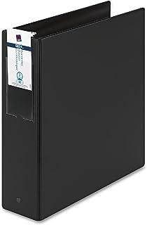 "Avery 04601 Economy Ring Binder W/Labelholder, 3"" Capacity, Black"