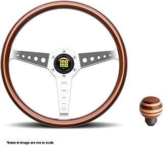 MOMO California Wood Steering Wheel + Targa Wood Shift Knob - CAL36WD0P + TARMAG