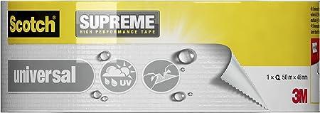 6 unit/és//carton 25 m x 48 mm Toile de r/éparation haute performance Scotch/® Extremium/™ DT17