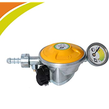 IGT STRIVING FOR PERFECTION Gas Safety Device for All Domestic Cylinders (Chic Yellow)