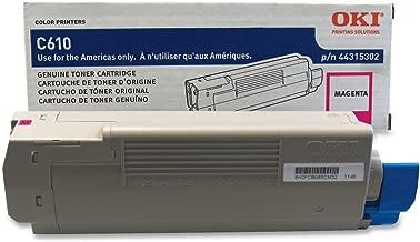 OKI 44315302 Magenta Toner for Series C610 Printers - type C15 - 6K Yield