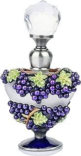 YUFENG 5ml Retro Purple Grape Glass Perfume Bottles Empty Refillable Egyptian Bottle