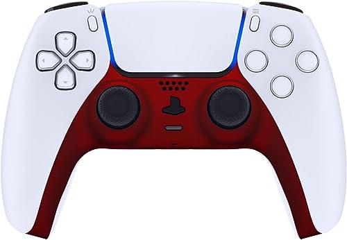 eXtremeRate Coque Garniture Décorative pour DualSense 5 Manette,Coque Remplacement Bricolage pour PS5,Couverture Plaq...
