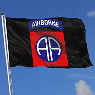 GSNWFG 82nd Airborne Division Military Logo 3x5 Foot Flags Outdoor Flags 100% Single-Layer Translucent Polyester 3x5 Ft