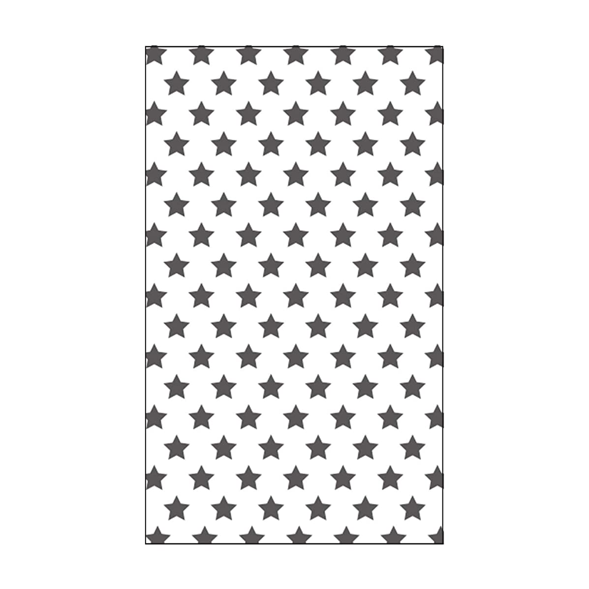 Vaessen Creative Mini Embossing Folder, Stars, for Adding Texture and Dimension to Scrapbook Pages, Cards and Other Papercraft Projects, 3 x 5 inches