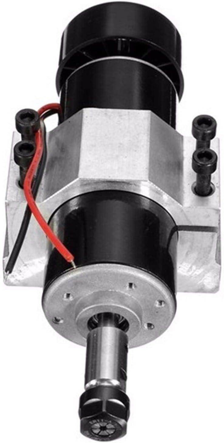 zxxin-motores dc, Motor de husillo refrigerado por aire 500W, ER11 52mm Abrazaderas de la fuente de alimentación Gobernador de la velocidad para CNC, Motor de DC de CNC de 500W de Chuck, Duradero
