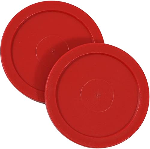 2021 Sunnydaze Large 2.5 Inch popular Replacement Air Hockey Table Pucks, 2 high quality Pack outlet sale