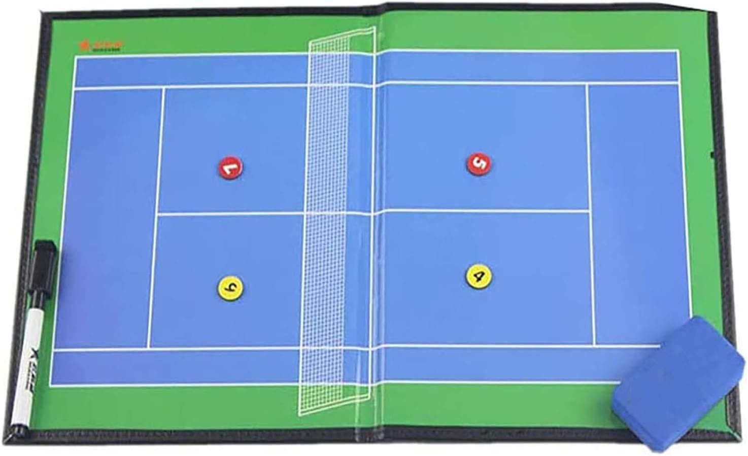 Boards Tennis Coaching Coaches Clipboard Kit w Magnetic Nashville-Davidson Mall Tactical half