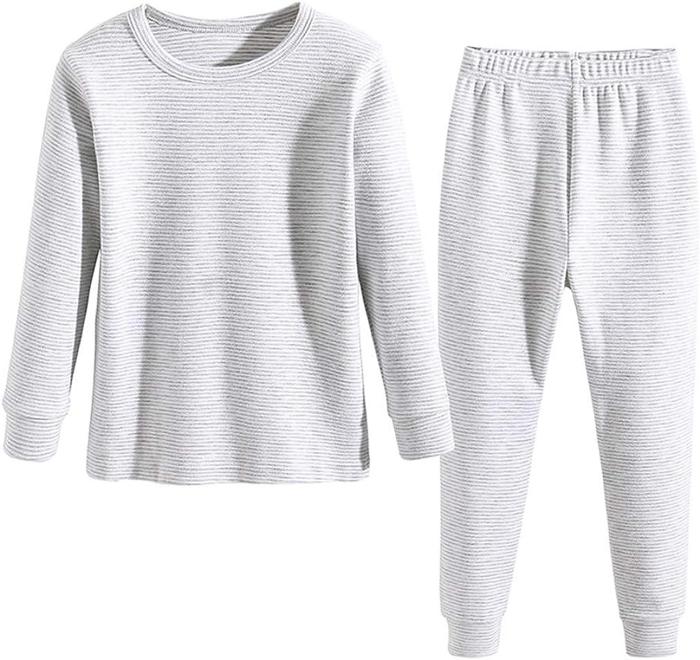 Enfants Chéris Toddler Pajamas Girls Boys Warm Cotton Pjs for Kids, 24M-6 Years