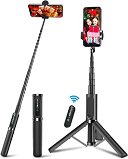 Bluetooth Selfie Stick Tripod, BlitzWolf Mini Extendable Aluminum Selfie Stick with..