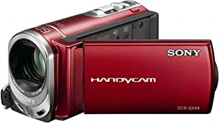 Sony DCR-SX44 Flash memory Handycam Camcorder (Red) (Discontinued by Manufacturer)