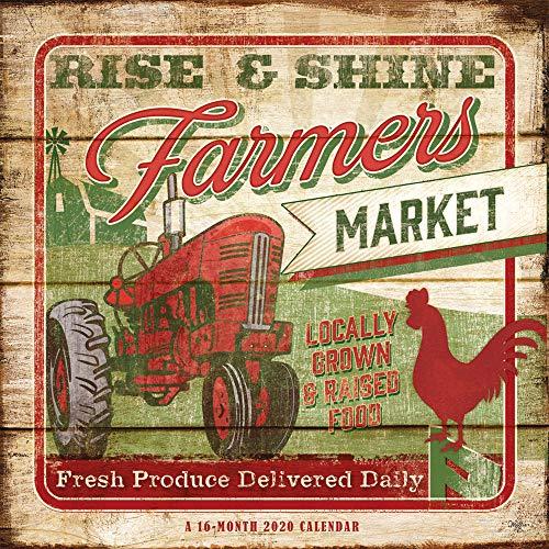 Farmer's Market 2020 Square Wall Calendar