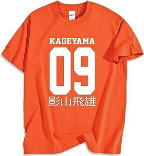 Camisetas Haikyuu Kageyama Tobio, Camiseta Informal de Hip Hop para Hombre de Dibujos Animados, Camiseta de Verano de Japó...