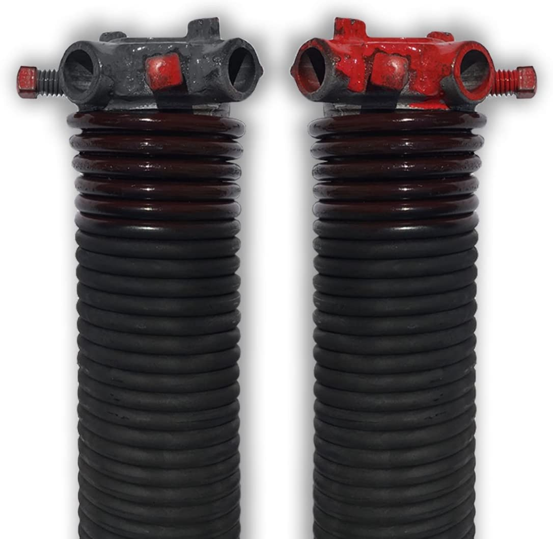 29.75 Pair of 234 X 1 3//4 X 27-38 Garage Door Torsion Springs with Winding Bars