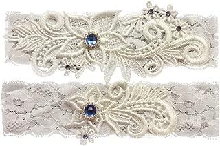 Best vintage lace wedding garter set Reviews