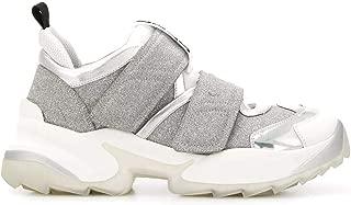 SERGIO ROSSI Luxury Fashion Womens A89430MFN8958198 Silver Sneakers |