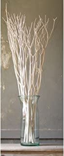 White Bleached Willow Branches - 48
