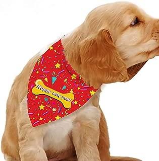 Best happy new year dog bandana Reviews