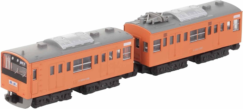 Series 201 Chuo Line Sayonara B Train Shorty Series 201 orange  (japan import)