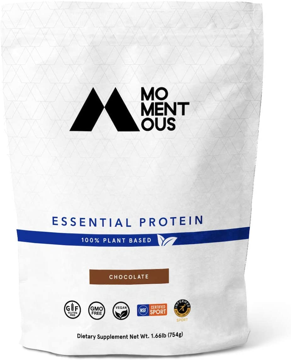 Store Momentous Essential Plant-Based Pea and Veg Rice Protein OFFicial Powder