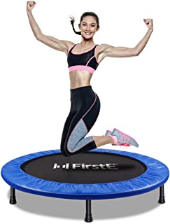 FirstE 40'' Portable Fitness Trampolines, Foldable Mini...