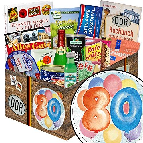 80 Geburtstag lustige Geschenke Manner + Ostprodukte + Geschenk zum 80.