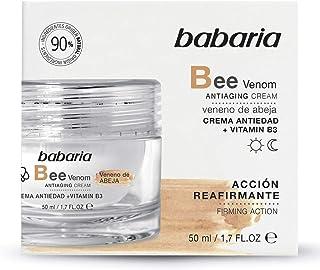 Babaria Crema Reafirmante Antiedad Veneno Abeja con Vitamina B3 50 ml Negro Único (31729)